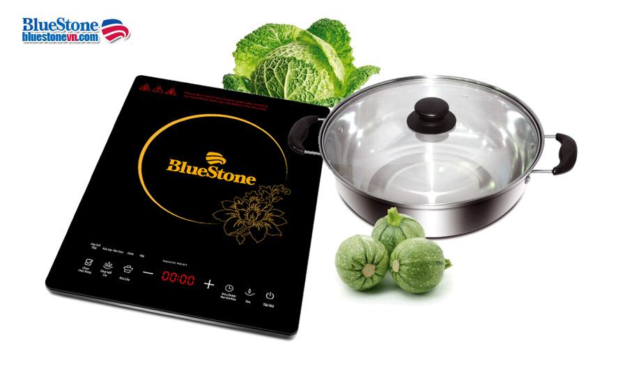 Bếp từ BlueStone ICB-6655 mặt kính bằng gốm thủy tinh dày chịu lực tốt
