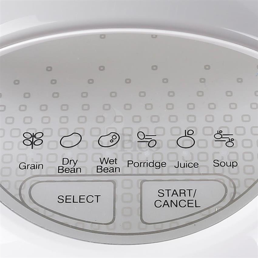 Bảng điều khiển của  máy làm sữa đậu nành BlueStone SMB 7319 đa chức năng