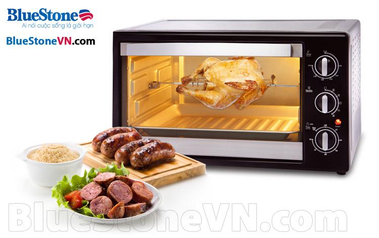 Lò nướng Bluestone EOB-7566S chất lượng cao, thiết kế nhỏ gọn vưa phải, công nghệ hiện đại, an toàn cho sức khỏe, đa chức năng, nướng gà nướng bánh giá rẻ