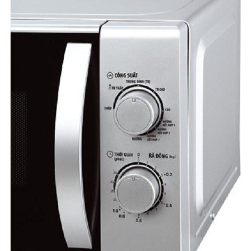 Lò vi sóng được điều chỉnh bởi a núm vặn cơ tiện dụng, bền, dễ sử dụng
