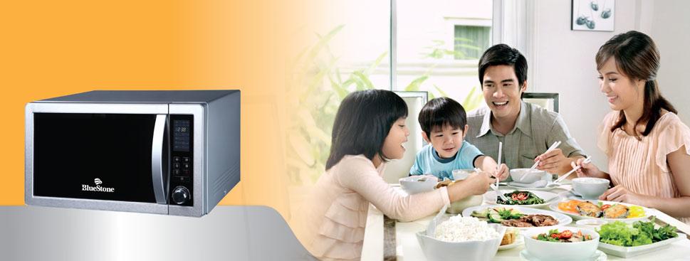 Với chiếc lò vi sóng giúp bạn chế biến được nhiều món ăn ngon cho cả gia đình mà không tốn nhiều thời gian