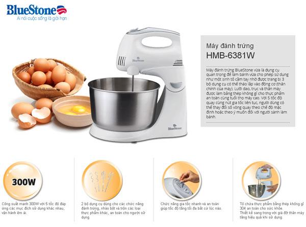 Ưu điểm vượt trội của máy đánh trứng của BlueStone chất lượng tốt