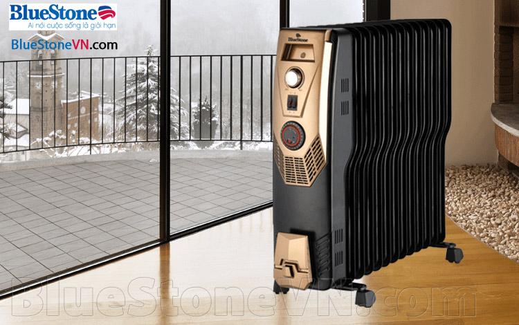 Máy sưởi dầu Bluestone RDB-8675 13 thanh nhiệt hình chữ S