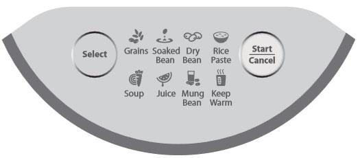 Bộ điều khiển của máy làm sữa đậu nành BlueStone SMB 7326 đa năng