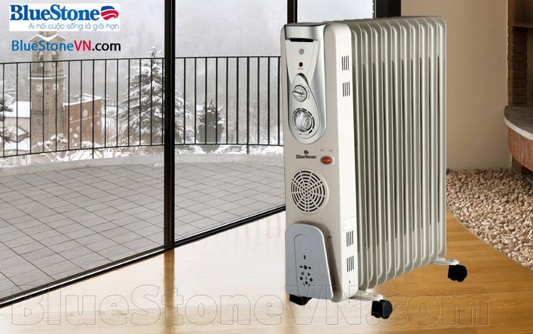 Máy sưởi dầu Bluestone RDB-8653 11 thanh nhiệt thẳng
