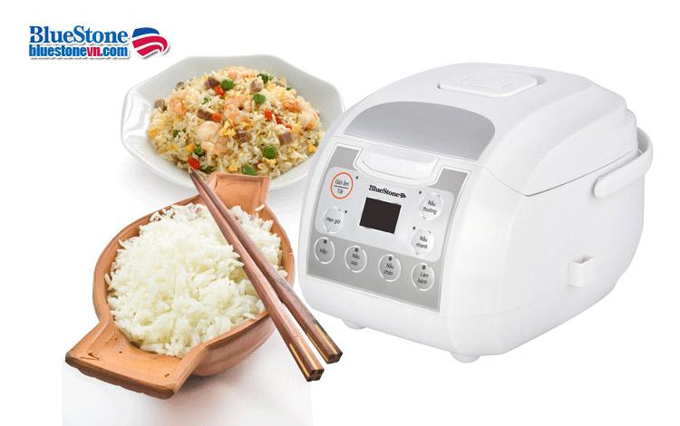 Nồi cơm điện tử Bluestone RCB-5923 loại tốt nhất lòng nồi dày giữ nhiệt lâu nấu cơm ngon