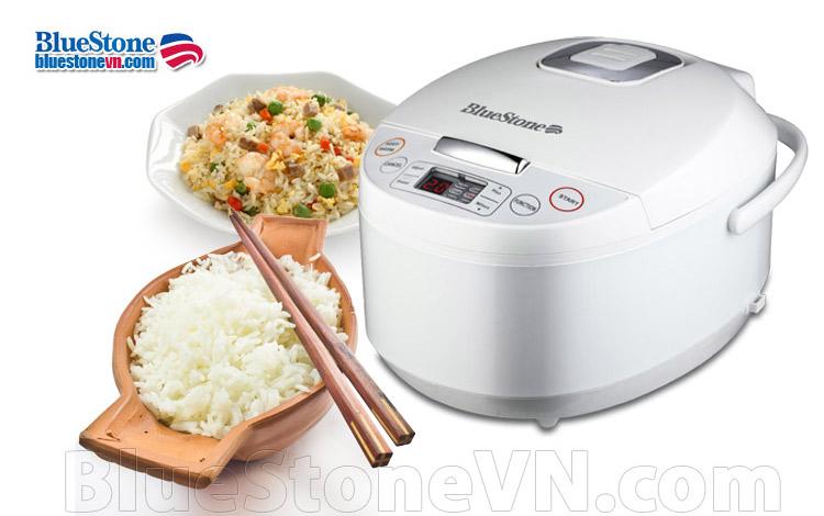 Nồi cơm điện tử Bluestone RCB-5925W lòng dày giữ nhiệt tốt nấu cơm ngon