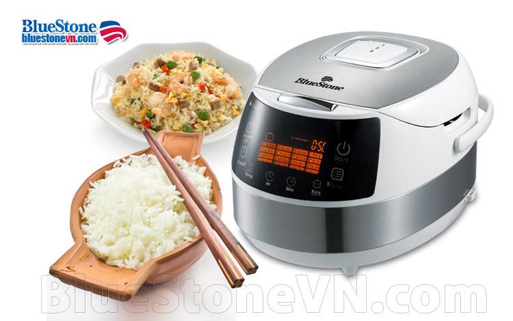 Nồi cơm điện tử Bluestone RCB-5968S cao cấp lòng nồi cực dày nấu cơm cực ngon