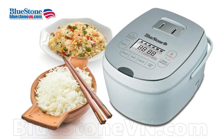 Nồi cơm điện tử cao cấp Bluestone RCB-5985S loại tốt nhất nâu cơm ngon
