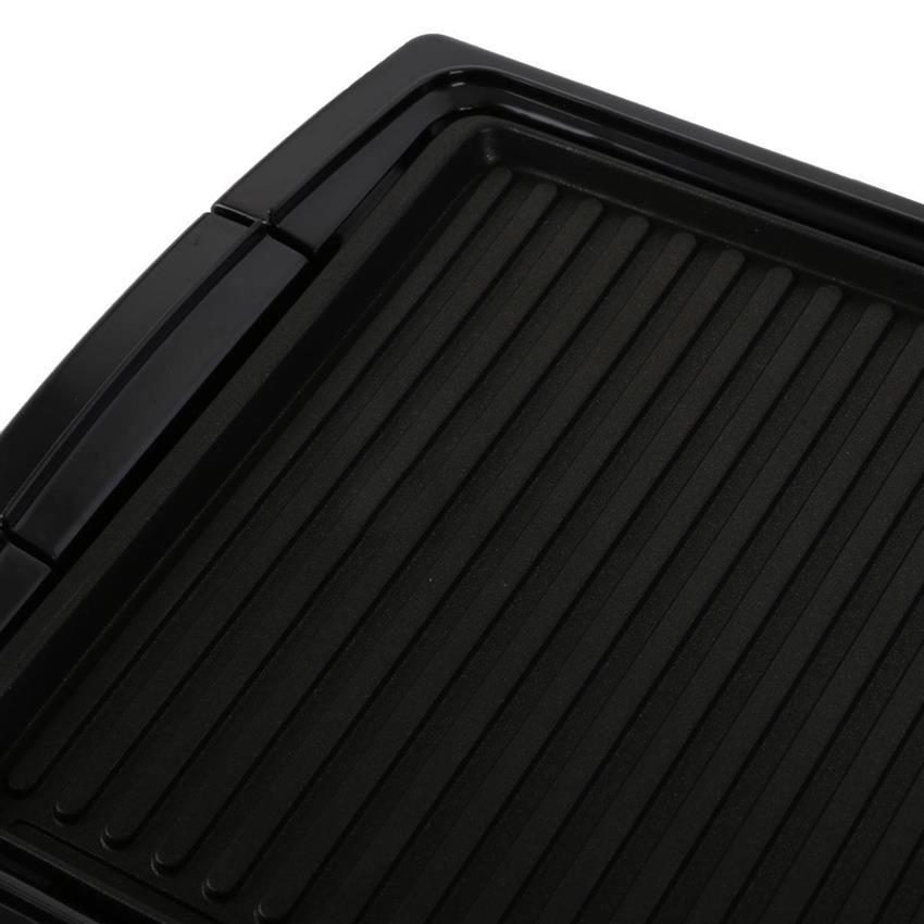 Mặt nướng của bếp nướng điện BlueStone được phủ 3 lớp chống dính Ceramic an toàn