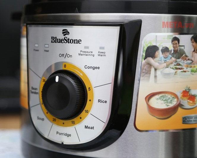 Nồi đa chức năng nấu, được điều chỉnh bằng núm vặn cơ tiện dụng, dễ sử dụng