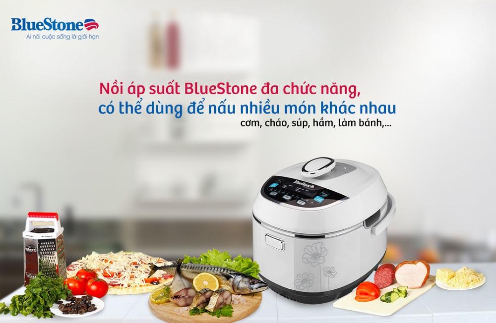 Nồi áp suất điện BlueStone PCB 5769D đa chức năng năng nấu chất lượng tốt