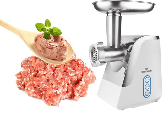 Máy xay thịt đa năng BlueStone CHB 5175 cao cấp, công suất cao xay thịt nhuyễn chỉ trong thời gian ngắn, làm ttuwf thép không gỉ an toàn cho sức khỏe, bảo hành 2 năm.