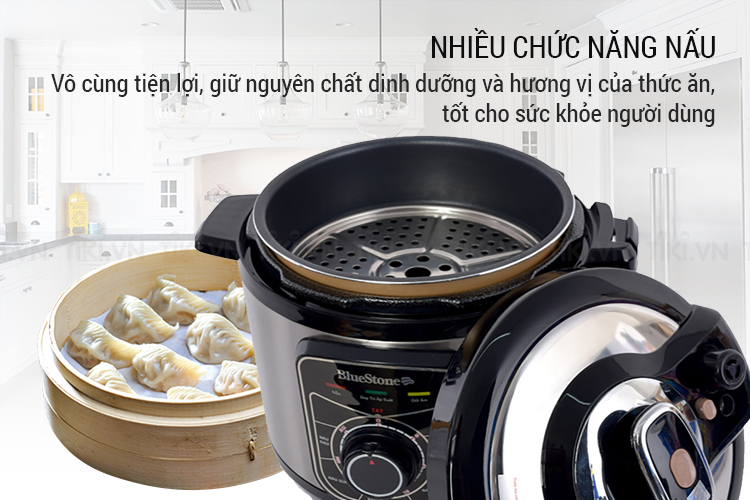 Nồi đa chức năng nấu: cơm, canh, ninh hầm, hấp, súp, cháo,...