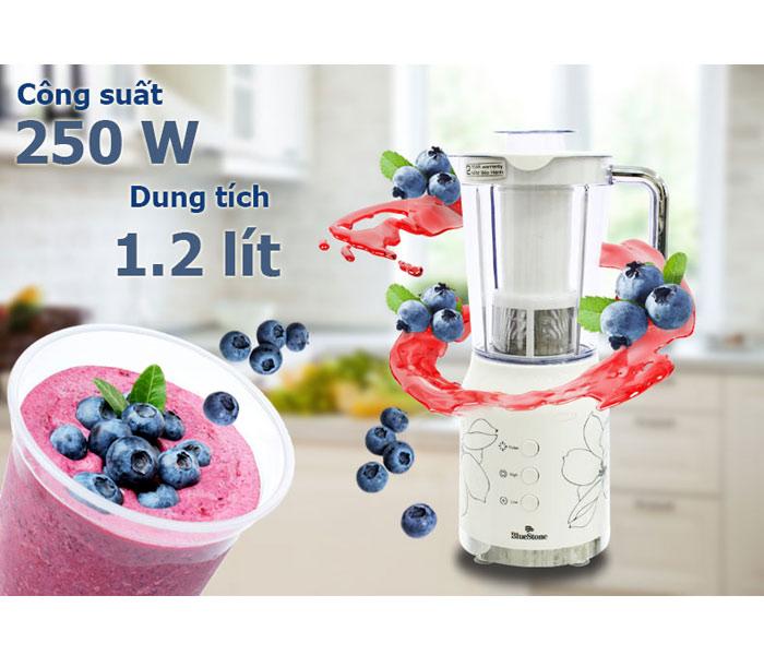 Máy xay sinh tố BlueStone BLB 5335 chất lượng cao, có chức năng tự động ngắt , tăng tuổi thọ sử dụng của máy.