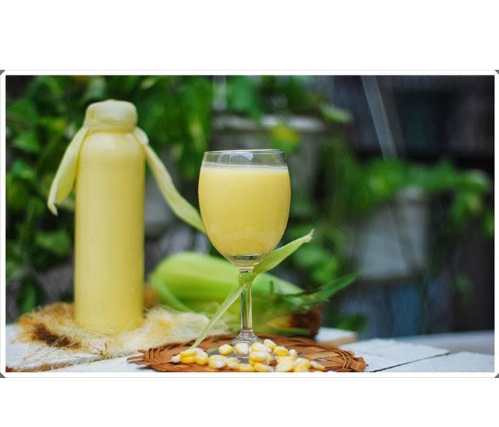 Sữa ngô giúp cải thiện sắc đep, chống lão hóa, giảm căng thẳng và rất tốt cho thai nhi.
