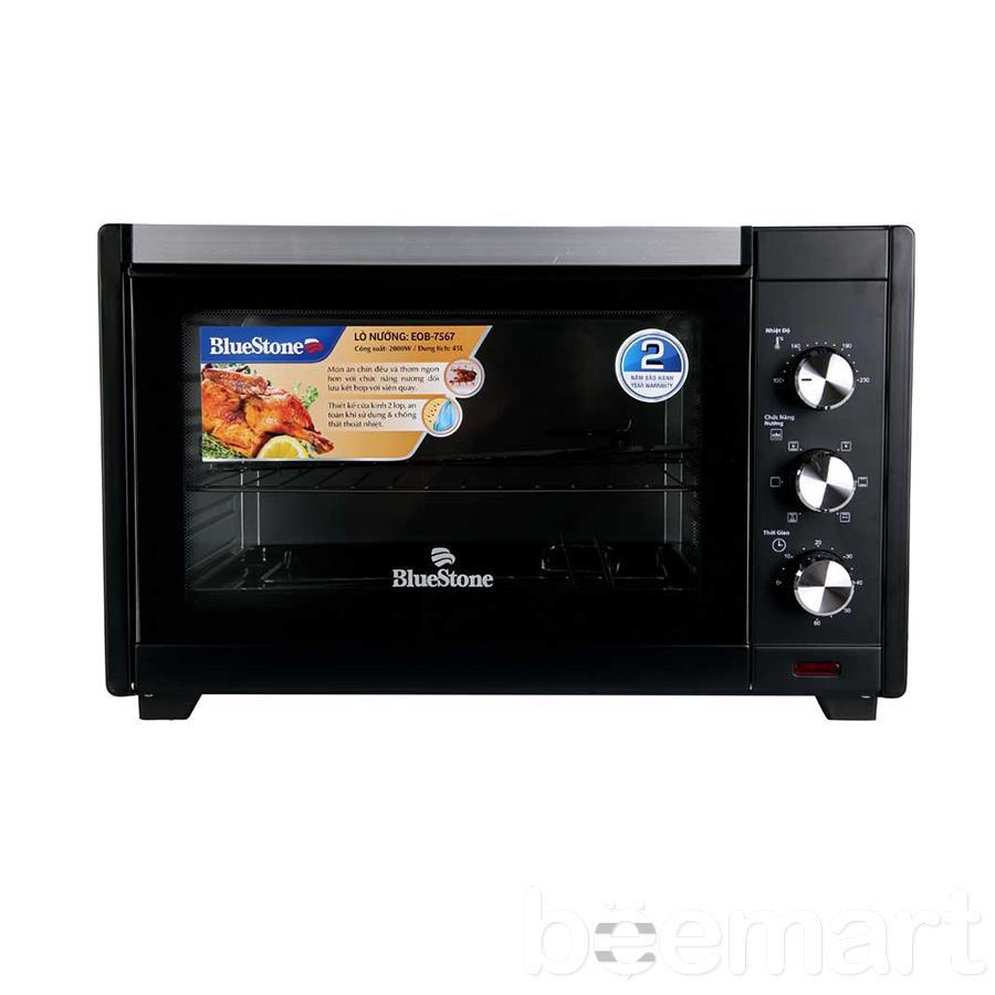 Lò nướng điện BlueStone EOB-7567 45L chất lượng tốt