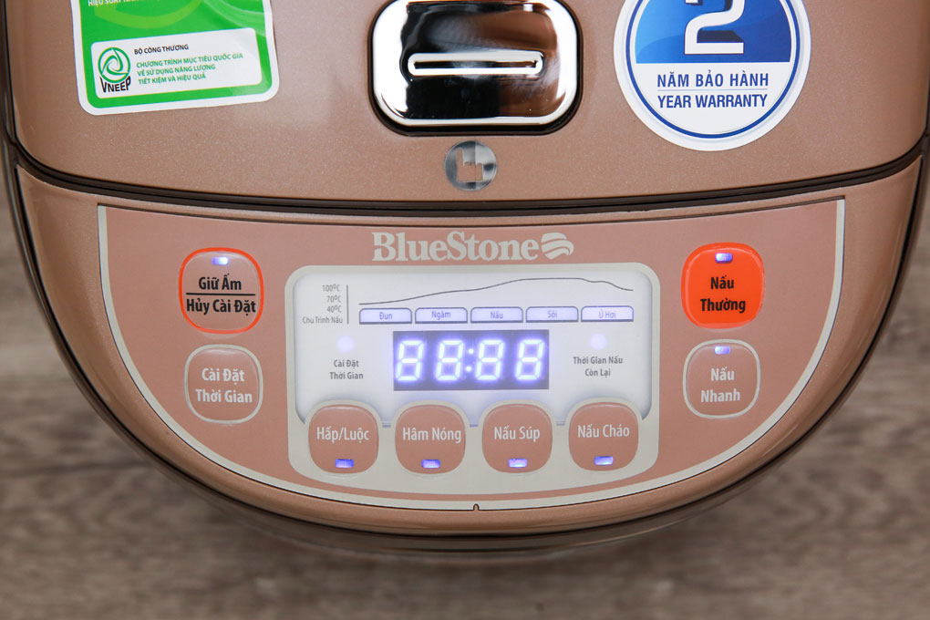 Nồi cơm điện BlueStone RCB-5936 bảng điều khiển