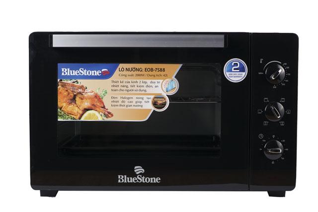 Lò nướng điện BlueStone EOB-7588 dung tích 42L, có đèn HalogenLò nướng điện BlueStone EOB-7588 dung tích 42L, có đèn Halogen