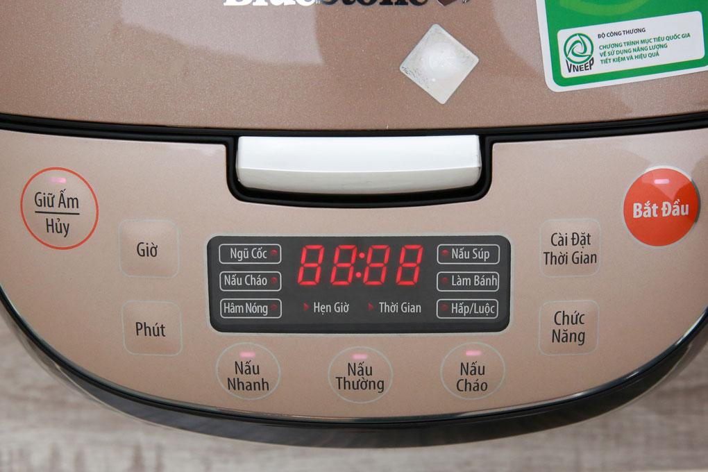 Nồi cơm điện BlueStone RCB-5943 bảng điều khiển điện tử